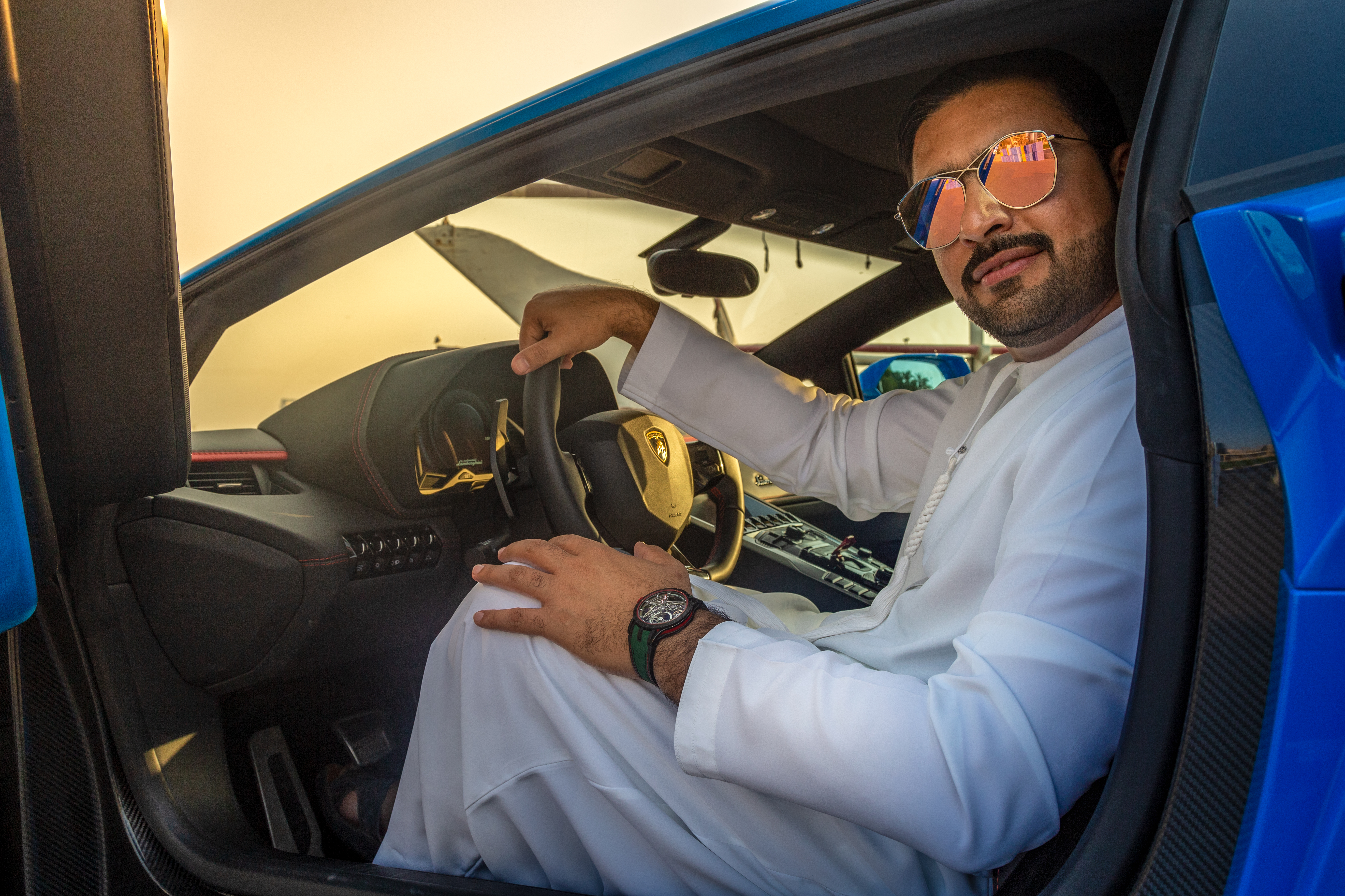 Roger Dubuis UAE National Day Campaign